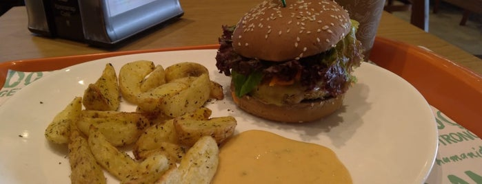 Hare Burger is one of Vegan and Vegan Friendly.