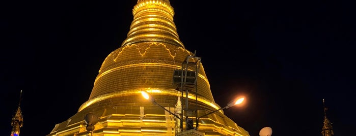 Botahtaung Pagoda is one of Myanmar spots.