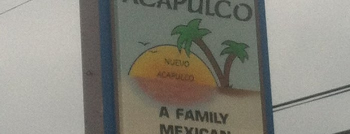 Nuevo Acapulco is one of Jordanさんの保存済みスポット.