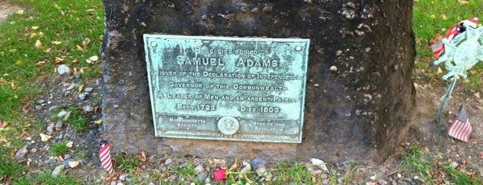 Grave of Samuel Adams is one of Beantown.