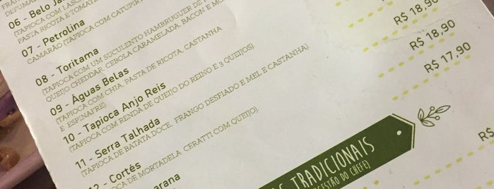 Tipiti Tapiocaria e Café is one of Para ir.