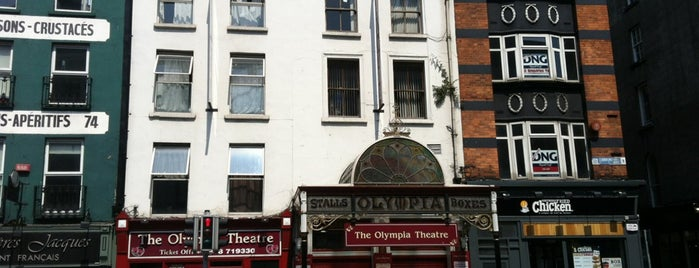 Olympia Theatre is one of In Dublin's Fair City (& Beyond).