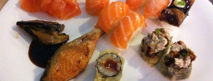 Hatti Sushi is one of The Best of Berrini.