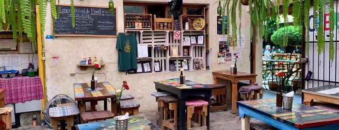 Chermol Restaurant & Beer Garden is one of Antigua.