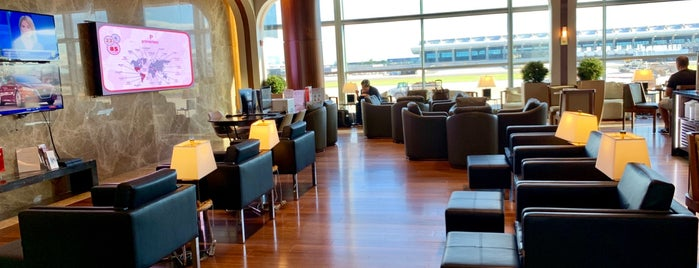 Turkish Airlines Lounge is one of Locais curtidos por Pavlos.