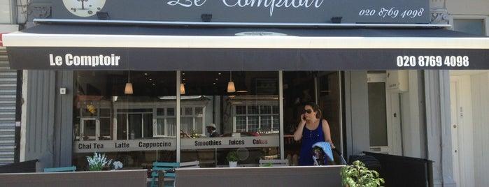 Le Comptoir is one of London.Food.