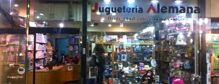 Jugueteria Alemana is one of Santiago.