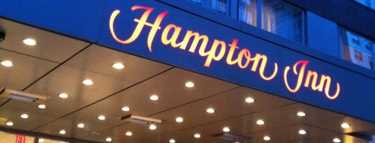 Hampton Inn Manhattan - Times Square North is one of Tempat yang Disukai Marco.