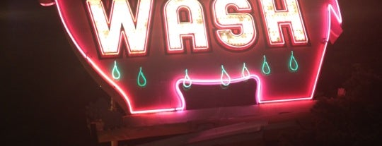 Elephant Car Wash is one of Neon/Signs Washington.
