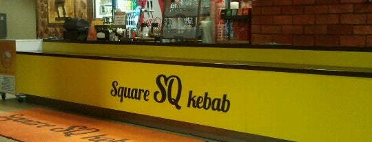 Square SQ kebab is one of Tallin.