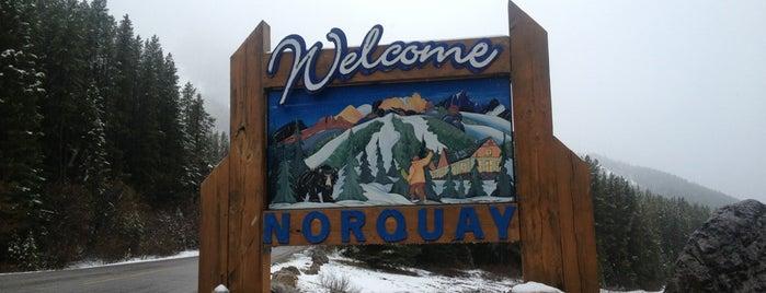 Mount Norquay is one of #ExploreAlberta.