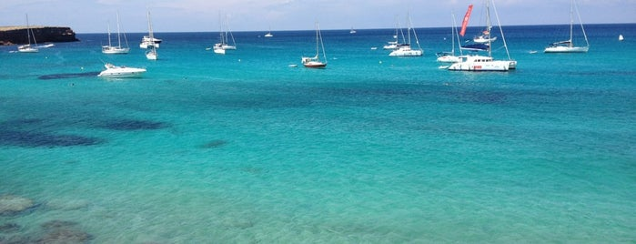 Playa Cala Saona is one of Ibiza to doby Jas.