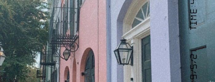 Rainbow Row is one of Charleston 2021.