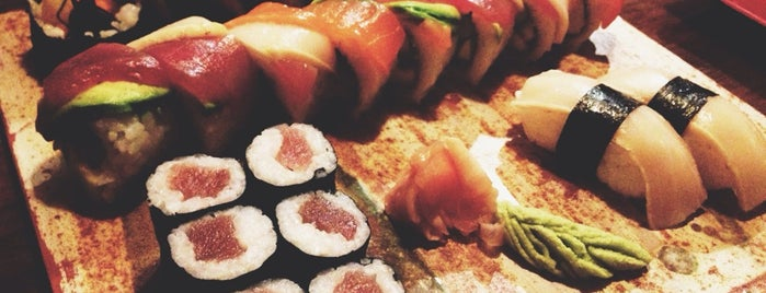 Kynoto Sushi Bar is one of Restaurants amb promocions Foursquare.