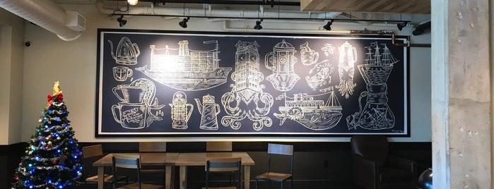 Starbucks is one of Al 님이 좋아한 장소.