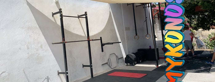 The Bodywork Gym is one of Places in Mykonos.