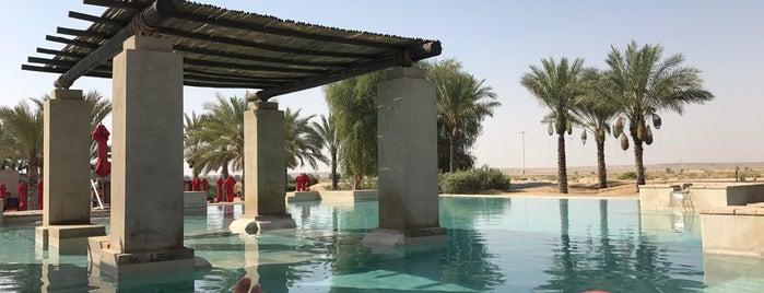 Bab Al Shams Desert Resort is one of สถานที่ที่ JOY ถูกใจ.