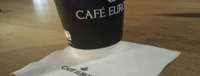 Café Europa is one of สถานที่ที่ Karen ถูกใจ.