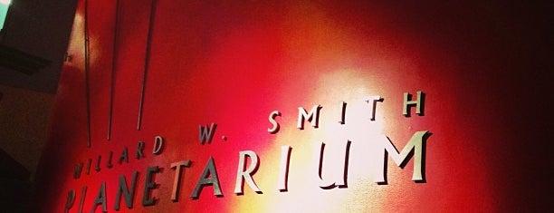 Willard W. Smith Planetarium is one of Planetarium Pilgrimages.