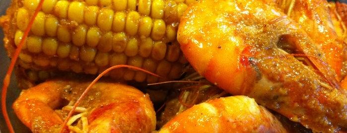 Manila Bay Seafood Boiler is one of สถานที่ที่บันทึกไว้ของ Maverick.