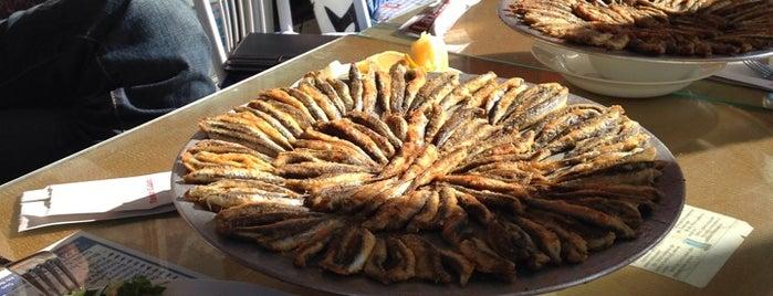 Laz'ın Yeri Balık Evi is one of yemeli içmeli.