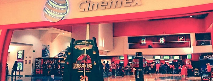 Cinemex is one of Lugares favoritos de Gaby.