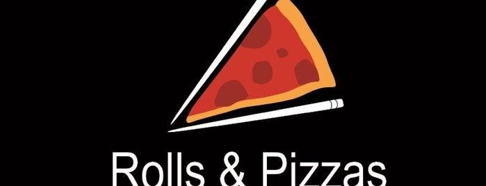 Rolls & Pizzas is one of Tempat yang Disukai Evander.