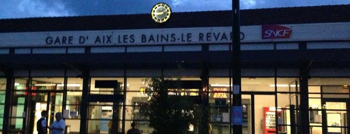 Gare SNCF d'Aix-les-Bains-Le Revard is one of Dave 님이 좋아한 장소.
