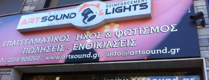 artsound is one of Posti che sono piaciuti a Sofoklis.