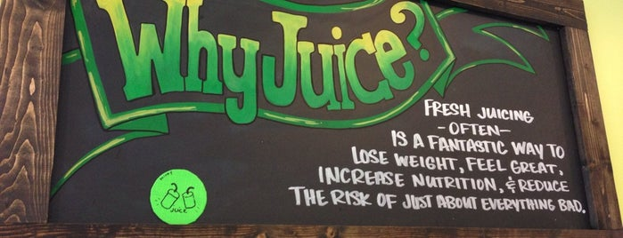 Juice Bar is one of 50 Cult-Favorite Juice Bars.
