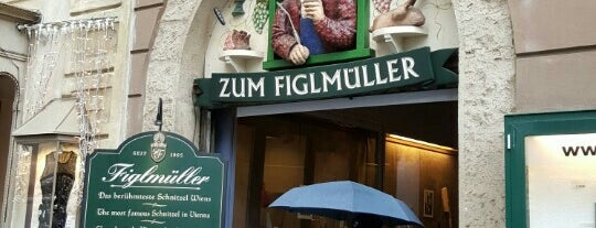 Figlmüller is one of Vienna To Do.