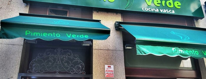 El Pimiento Verde is one of Comer en Madrid.