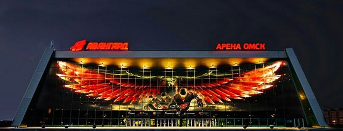 Arena Omsk is one of df.
