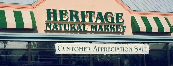Heritage Natural Market is one of Tempat yang Disukai Dawn.