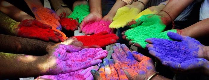 Holi Festival Of Colours is one of Tempat yang Disukai ᎧᎧᎧᎧᎧᎧ.