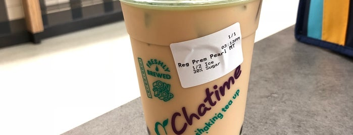 Chatime is one of Cafe part.4.