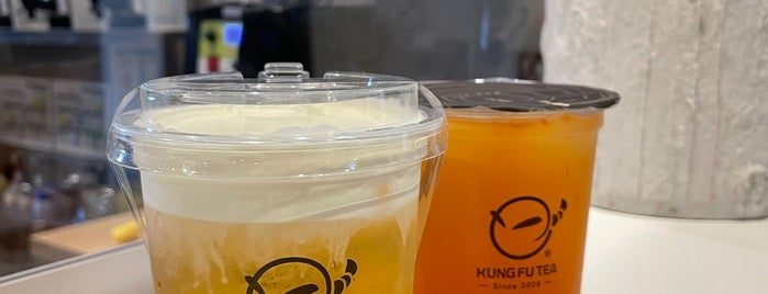 Kung Fu Tea is one of YVR.