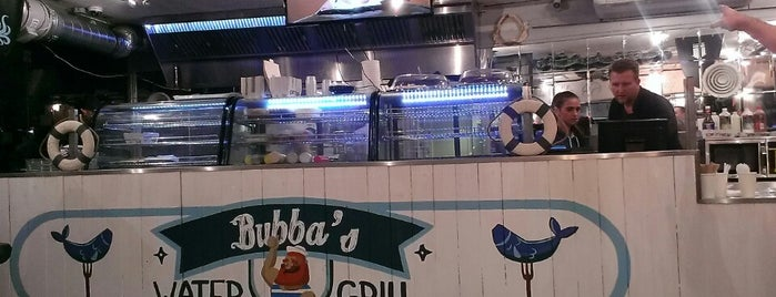 Bubba's Water Grill is one of take my money.