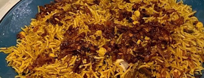 مطاعم الكبسة الحساوية is one of Lugares guardados de Munira.