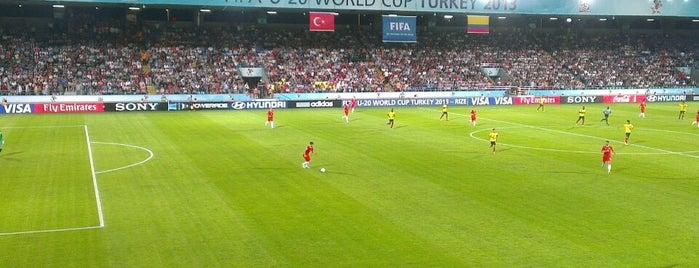 Çaykur Didi Stadyumu is one of Türkiye Süper Lig Stadyumu (Season 2013-2014).