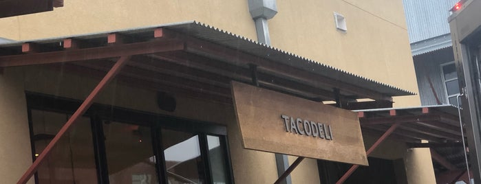 Tacodeli is one of Dallas- Want to try.
