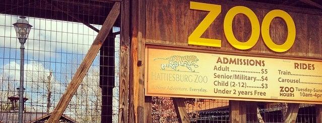 Hattiesburg Zoo is one of Life's a Zoo.