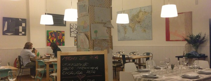LU&CIA Restaurante is one of Zampar en Madrid.