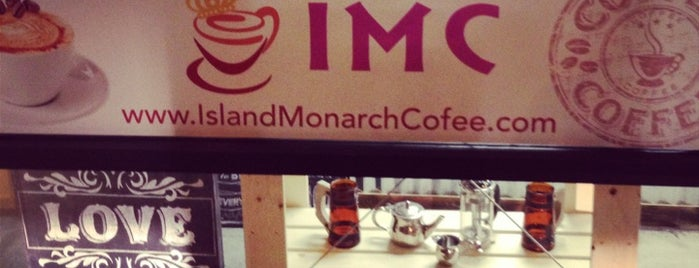 Island Monarch Coffee (IMC) is one of Culver City.
