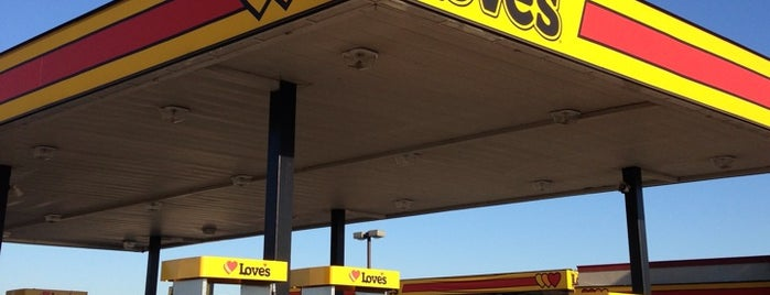 Love's Travel Stop is one of David's Liked Places.