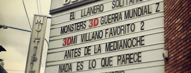 Multiplex Belgrano is one of Cines.