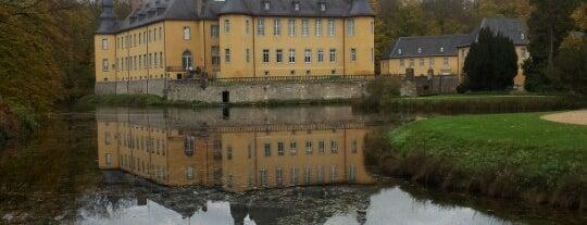 Schloss Dyck is one of #111Karat - Kultur in NRW.