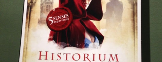 Historium is one of Locais curtidos por Alan.
