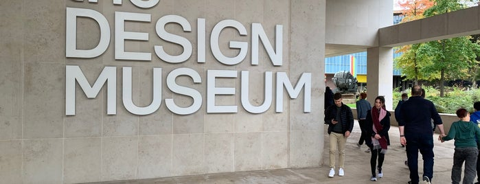 The Design Museum is one of London Guide.