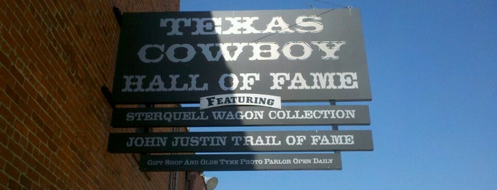 Texas Cowboy Hall of Fame is one of Texas.